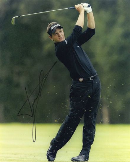 Luke Donald, Ryder Cup legend, signed 10x8 inch photo.